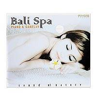 Audio CD, 'Bali Spa Piano and Gamelan' - Spa Piano Relaxation Audio CD