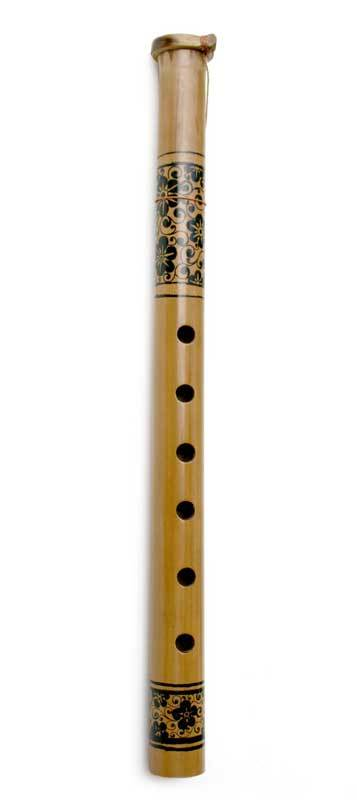 Bamboo flute, 'Floral Song' - Bamboo Flute Handmade in Indonesia