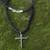 Men's sterling silver cross necklace, 'Holy Sacrifice' - Men's Sterling Silver Cross Necklace  (image 2b) thumbail