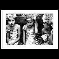 'Young Balinese Girls'