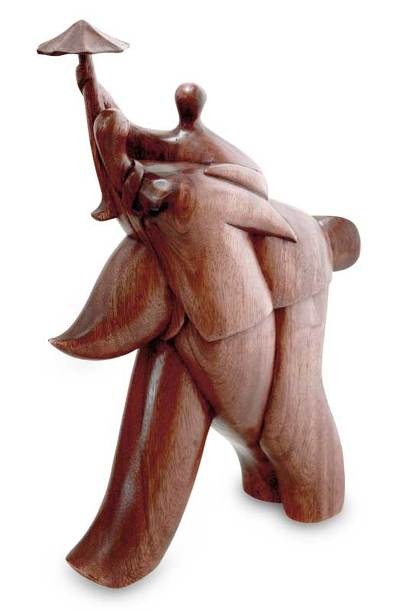 Fair Trade Wood Sculpture from Indonesia