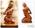 Wood sculpture, 'Mother and Her Child' - Hand Carved Suar Wood Sculpture (image 2) thumbail
