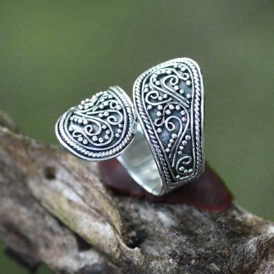love sterling silver ring candles