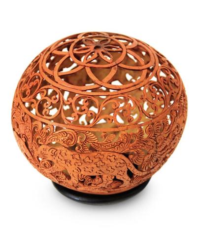Handmade Coconut Shell Sculpture