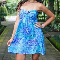 Featured review for Batik dress, Java Twilight