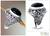 Men's onyx ring, 'Jungle Protector' - Men's Floral Sterling Silver and Onyx Ring thumbail