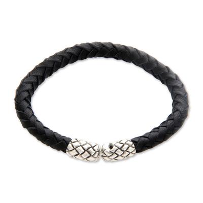 Unique Leather Braided Bracelet