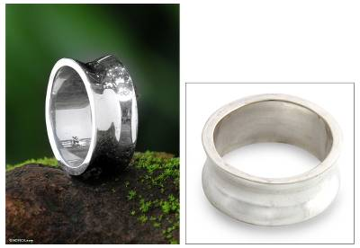 Men's Sterling Silver Band Ring