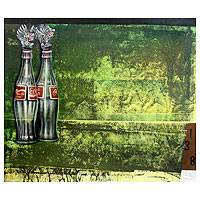 'Coca Cola in Bali' (2011) - Still Life Oil Painting from Indonesia