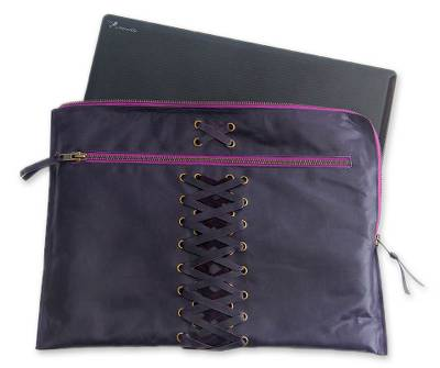 Handcrafted Leather Laptop Case