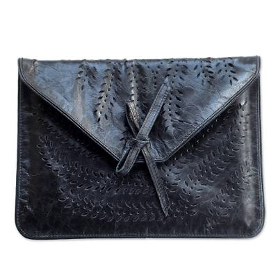 Unique Leather Tablet Case from Indonesia