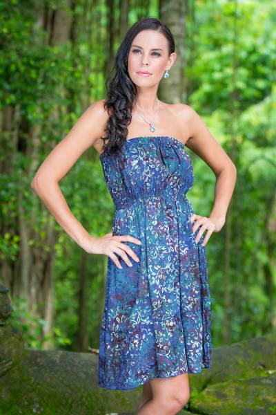 Batik sundress, Balinese Reef