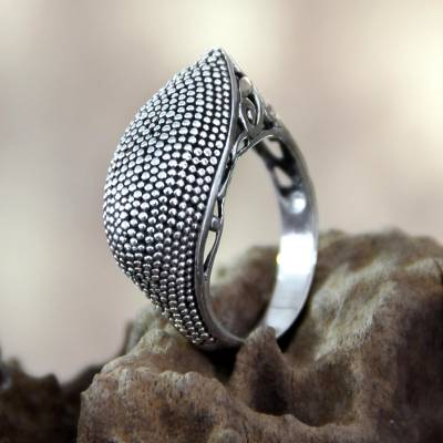 heavy silver jewelry