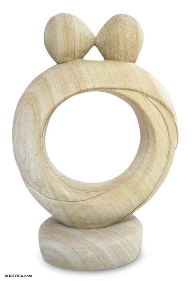 Romantic Sandstone Sculpture