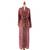 Batik robe, 'Ruby Red Nebula' - Red Hand Crafted Batik Robe from Indonesia (image 2c) thumbail