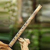 Bamboo flute, 'White Dragon Song III' - Bamboo flute