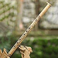 Bamboo flute, 'Pretty Princess' - Balinese Professional Grade Handmade Bamboo Flute