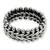 Men's sterling silver band ring, 'Sultan' - Men's Sterling Silver Band Ring (image 2a) thumbail