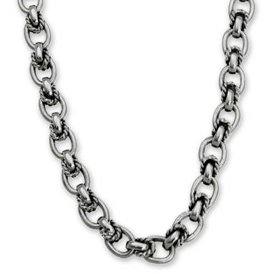 Fair Trade Indonesian Silver Chain Necklace