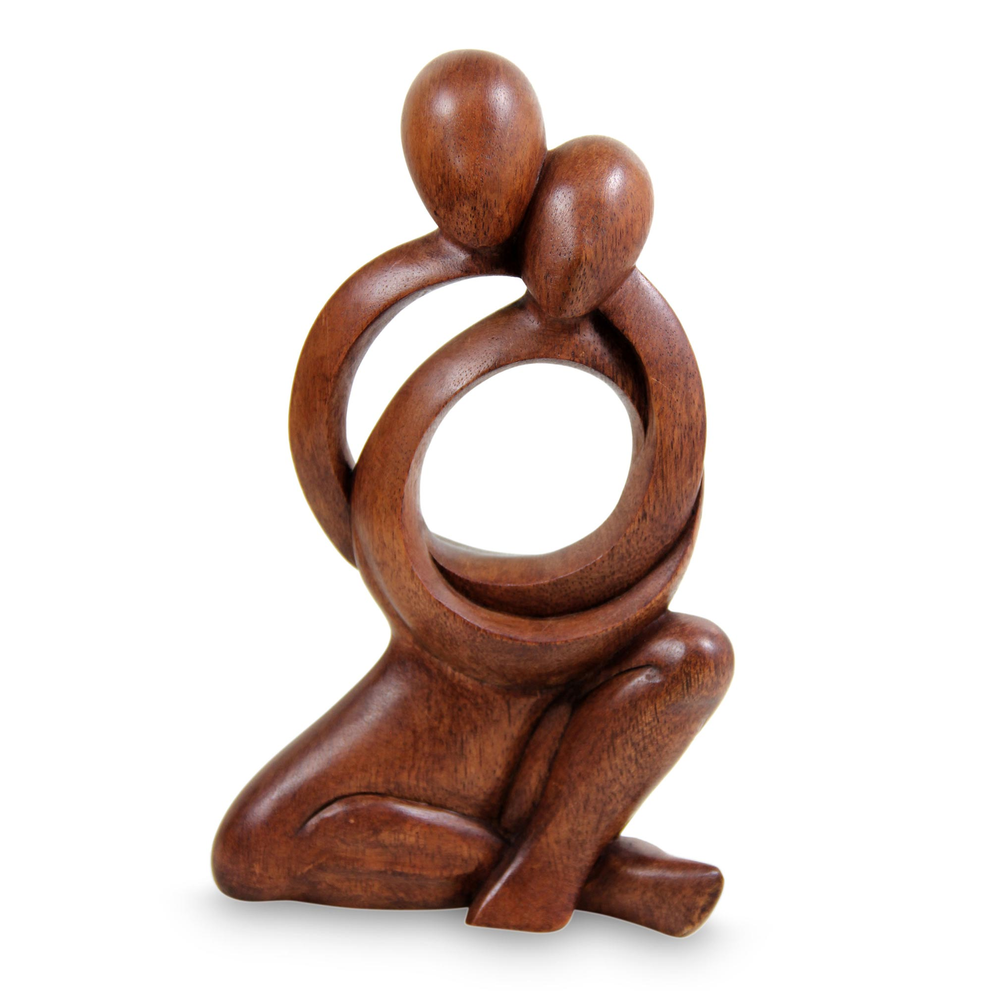 Unicef uk market abstract lovers sculpture together