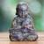 Bronze statuette, 'Praying Baby Buddha' - Aged Bronze Statuette from Java Buddhism Art (image p216481) thumbail