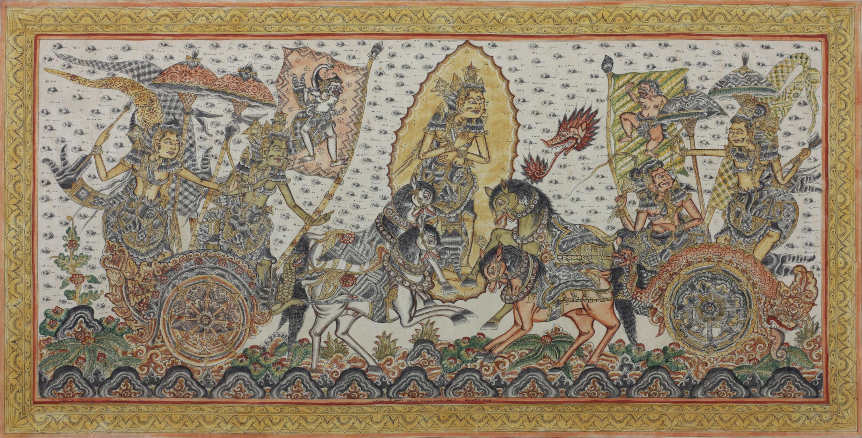 Pittura balinese in stile Kamasan