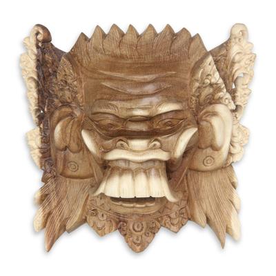 Balinese Acacia Wood Celuluk Mask