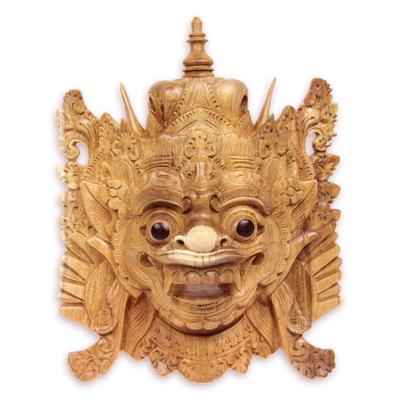 Balinese Folk Art Hero Mask