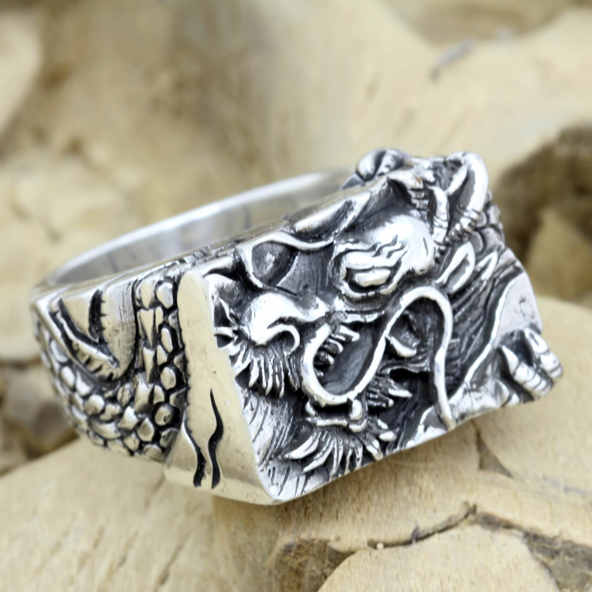 leaf in rings jewellery silver ring sterling