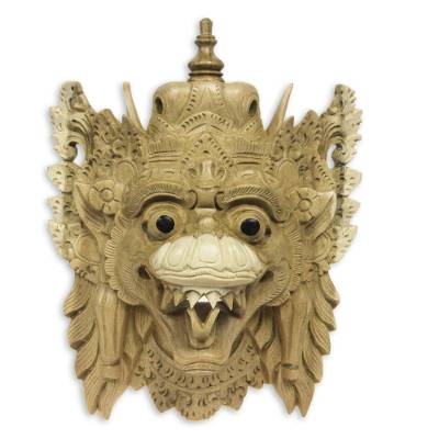 Artisan Carved Dragon Mask