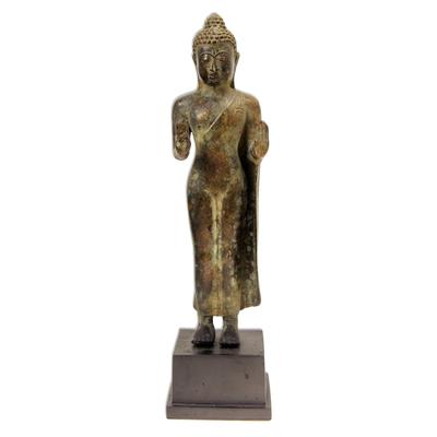 Bronze Buddha Statuette from Bali