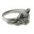 Men's sterling silver ring, 'Feisty Ocelot' - Unique Men's Ocelot Ring Crafted from Sterling Silver (image 2b) thumbail