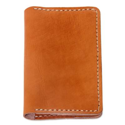 Quality Leather Passport Wallet Hand Crafted in Bali