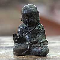 Featured review for Bronze figurine, Baby Buddha