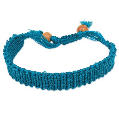 Macrame wristband bracelet,
