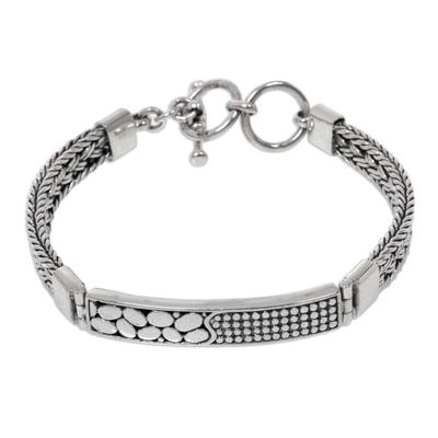 Artisan Crafted 925 Sterling Silver Bracelet NOVICA Bali