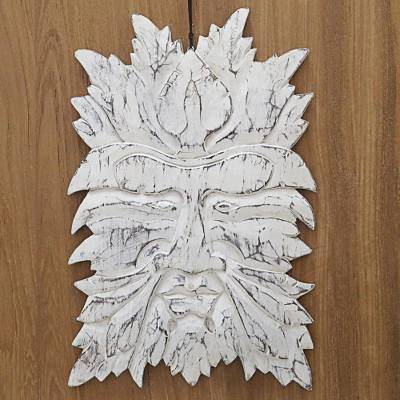 Fish sculpture-50 cm hand-carved wood wall decor