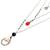 Multi-gemstone cultured pearl pendant necklace, 'Triple-Layered Joy' - Multigem Cultured Pearl Onyx Pendant Necklace Indonesia (image 2c) thumbail