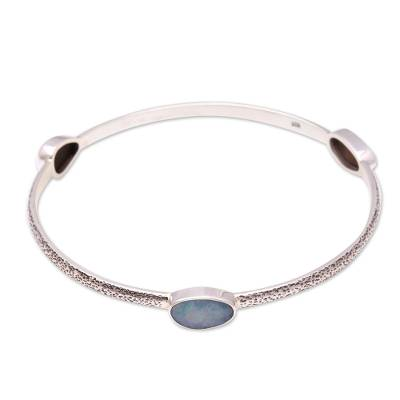 Opal bangle bracelet,