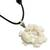 Bone pendant necklace, 'Frog Circle' - Hand Made Bone Pendant Necklace Frogs from Indonesia (image 2c) thumbail