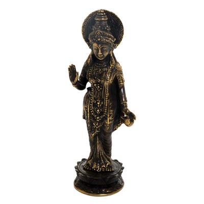 Bronze Sculpture of Hindu Goddess Parwati from Indonesia