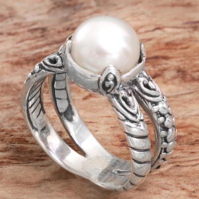sterling silver triple circle earrings