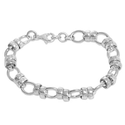 Fair Trade Sterling Silver Chain Link Bracelet