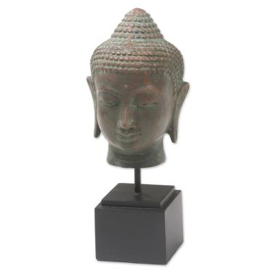 Bronze Statuette of Buddha