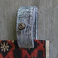 Wood tapestry hangers, 'Bali Sunflowers' (pair)