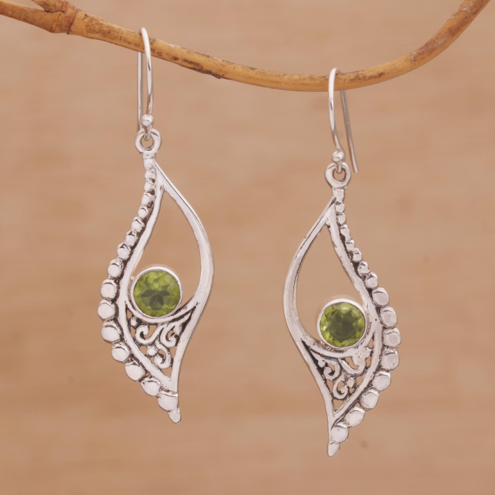 silver earrings textured earrings dangle earrings ear gifts for her sterling earrings SAIL EARRINGS printed earrings shiny earrings