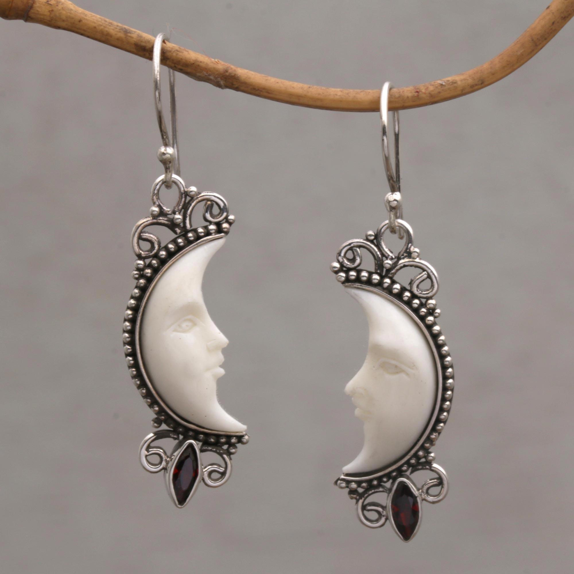 Midnight Moon Dangles