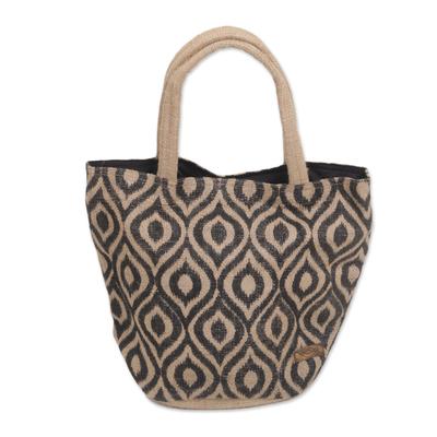 Handmade Tote Handbag Crafted from Agel Grass