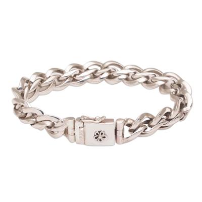 Handmade Indonesian 925 Sterling Silver Bracelet