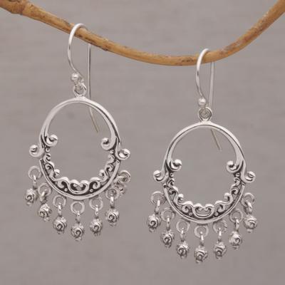 925 sterling silver earring dangle silver earring